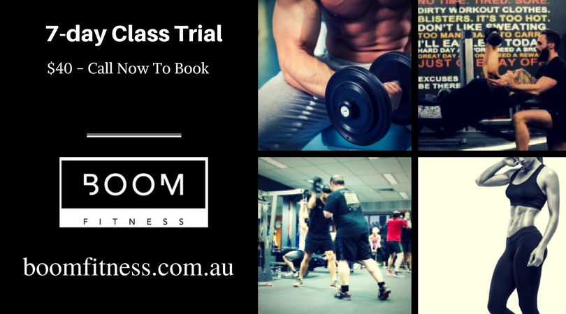 Boom Fitness in East Fremantle and Scarborough for Personal training sessions