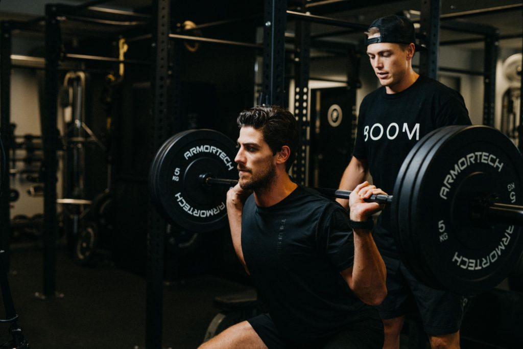 One-on-one personal training with boom Fitness in East Fremantle and Scarborough