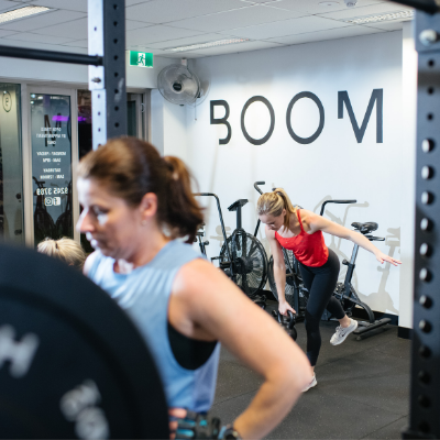 Just one of the sessions at Boom Fitness East Fremantle and Scarborough