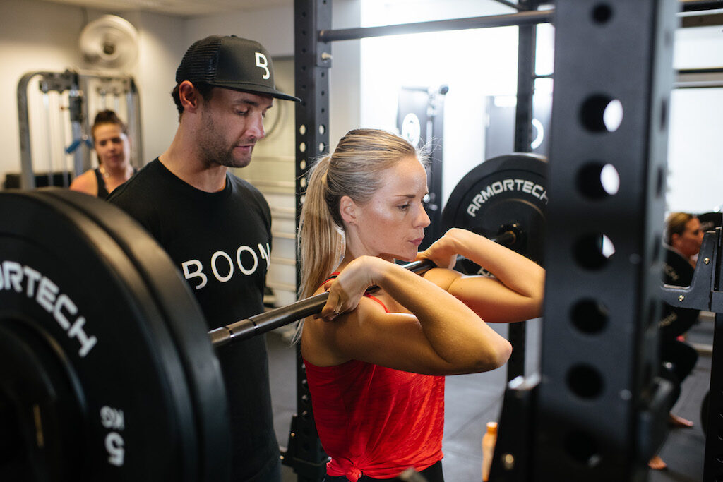 Personl Training Session at Boom Fitness East Fremantle & Scarbourough